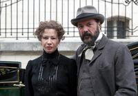 Sebastian Koch bei Dreharbeiten mit Birgit Minichmayr in Wien 2014