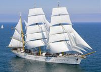 Segelschulschiff Gorch Fock in See