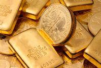 """Seit Corona ein stark wachsender Trend: Geldanlage in echtem Gold als Goldbarren und Goldmünzen.  Bild: """"obs/TARGOBANK AG/Gina Sanders - stock.adobe.com"""""""