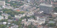 Nordansicht auf die Uniklinik Köln