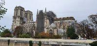 Paris Notre-Dame: Die Kathedrale von Südosten (November 2019)
