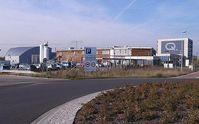 Werk von Q-Cells in Thalheim Bild: M_H.DE / de.wikipedia.org