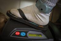 Elektronische Fußfessel mit Basisstation in Frankreich