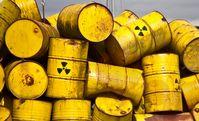 Atommüll tötet Mensch, Tier und Pflanze noch hundertausende Jahre lang... (Symbolbild)