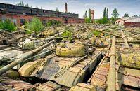 Panzerfriedhof auch bald bei uns?