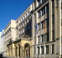 Hauptsitz des Bundesministeriums der Justiz in der Mohrenstraße in Berlin