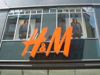 H&M-Logo in Hamburg