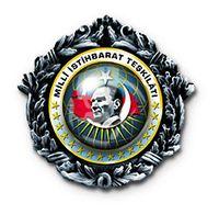 Abzeichen des türkischen Geheimdienstes Millî İstihbarat Teşkilâtı (MIT)