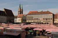 Nürnberg: Das Rathaus am Hauptmarkt ist das kommunalpolitische Zentrum