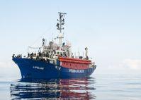 Schiff der Mission-Lifeline im Juni 2018.
