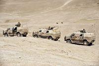 Afghanistan: Deutsche Soldaten mit Fahrzeugen vom Typ ATF Dingo