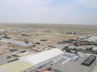 Masar-i-Scharif: Blick über das Camp