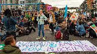 Demonstration von sogenannten Klimaaktivisten in Berlin (Symbolbild)