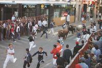 Beim Stierlauf (auch Stierrennen; spanisch encierro = Einschließen, Einschluss) treibt man Stiere durch eine Stadt in eine bestimmte Richtung, meist zur Stierkampfarena. Dazu werden an den Einmündungen der Seitenstraßen Barrikaden aufgestellt, damit die Stiere nicht von der Hauptroute abweichen können. Durch schmale Öffnungen können die (menschlichen) Teilnehmer des Stierlaufs auf die Straße treten, die Stiere treiben oder vor ihnen her laufen, und sich auch wieder in Sicherheit bringen.