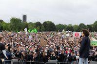 Demonstration am 24. September 2021 auf dem Platz der Republik in Berlin.