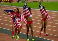 4 × 400 m (Frauen)