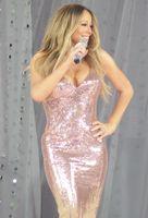 Mariah Carey performing on Good Morning America, 2013