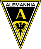 Logo Alemannia Aachen (offiziell: Aachener Turn- und Sportverein Alemannia 1900 e. V.)