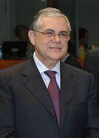 Lucas Papademos Bild: Greek Ministry of Finance / wikipedia.org