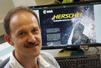 Prof. Dr. Alexander Krivov von der Universität Jena hat mithilfe des Herschel-Weltraumteleskops sechs ultra-kalte Trümmerscheiben entdeckt. Bild: Jan-Peter Kasper/FSU