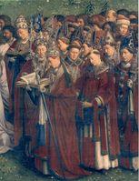 Päpste und Bischöfe (Bischof = Aufseher)