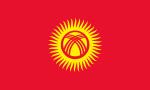 Flagge der Kirgisischen Republik (Kirgistan)