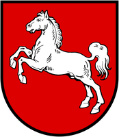 Flagge von Niedersachsen
