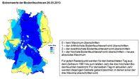 Grafik: Deutscher Wetterdienstes (DWD)