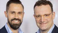 Daniel Funke und Jens Spahn (2020) Bild: Martin Kraft - Eigenes Werk, CC BY-SA 4.0, https://commons.wikimedia.org/w/index.php?curid=87596260