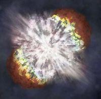 Beispiel einer Supernova. Bild: NASA