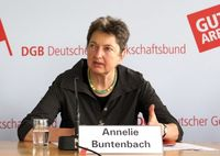 Annelie Buntenbach Bild: Deutscher Gewerkschaftsbund