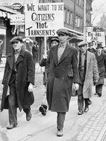 Geschichte wiederholt sich: Arbeitslosigkeit (Symbolbild)