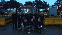 Die Teams der Feuerwehr Kleve beim Brandweerwedstrijd in Duiven Bild: Feuerwehr