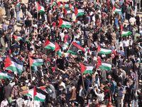 Palästinensische Proteste (Symbolbild)