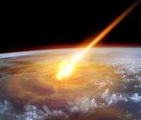Asteroid trifft die Erde: ein seltenes Ereignis. Bild: iStock/Solarseven