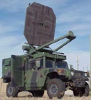 Nichttödliche Waffe: Humvee with Active Denial System mounted