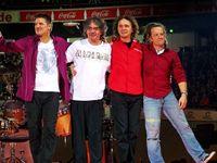 Hartmut Engler, Ingo Reidl, Rudi Buttas und Joe Crawford von Pur (2009)