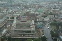Blick auf das Humboldtforum vom Fernsehturm aus gesehen im Juni 2015