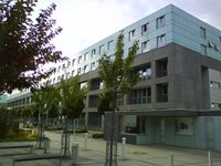 Hauptgebäude des Universitätsklinikum Magdeburg