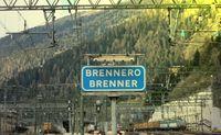 Grenze am Brenner