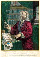 Albertus Seba. Kupferstich von J. Houbraken, 1731.