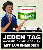Lügenpresse /Lügenmedien (Symbolbild)