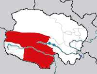 Karte mit Lage der Präfektur Yushu Grafik: Andreas Gruschke