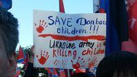Ukraine: A rally in support of Novorossiya territories in eastern Ukraine, Moscow, June 11, 2014