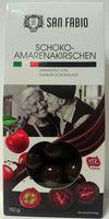 """Die Firma Nawarra Süßwaren GmbH, D-48329 Havixbeck ruft aus Gründen des vorbeugenden Verbraucherschutzes vorsorglich das Produkt «San Fabio Amarenakirschen in dunkler Schokolade, 150g» (EAN-Code: 28278320) zurück. Bild: """"obs/Nawarra Süßwaren GmbH"""""""