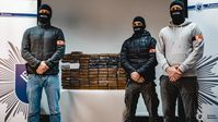 Zivile Ermittler Kokainfund Bild: Polizei