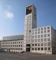 Stuttgarter Rathaus am Marktplatz