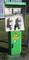 Stromtankstelle in Freiburg im Breisgau