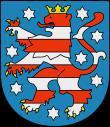 Wappen vom Freistaat Thüringen