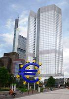 Gebäude der Europäischen Zentralbank (EZB) in Frankfurt am Main